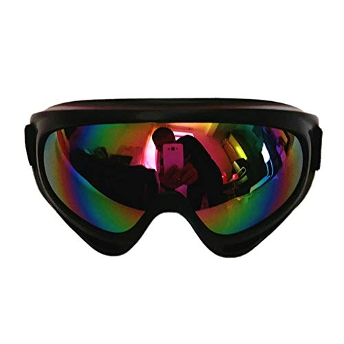 TH-OUTSE Snowboard Dustproof Sunglasses Motorcycle Ski Goggles Lens Frame Glasses Paintball Outdoor Sports Windproof Eyewear ()