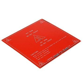 Nueva Impresora de 3D PCB Calienta cama MK II Cama de Calor Plato ...