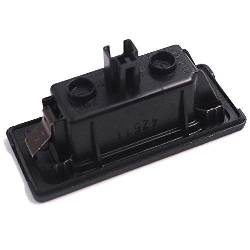 L/ámpara de matr/ícula LED OEM para A1 A3 A4 A5 A6 A7 Q3 Q5 TT2010-2014 4G0943021 4G0 943 021 5N0943021 3AF943021A