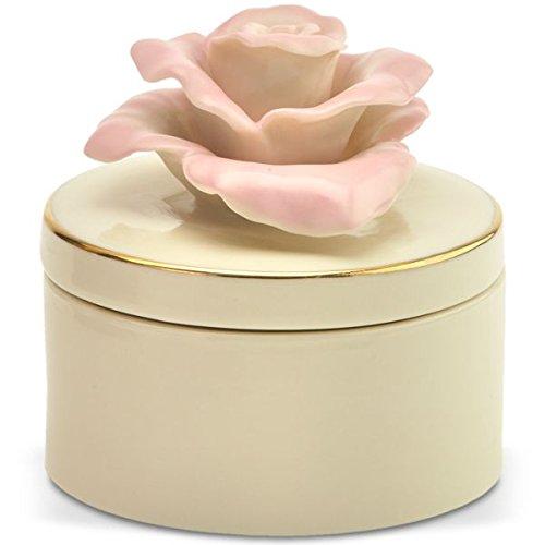 Rose Remembrance Box - Lenox Rose Blossom Remembrance Box Porcelain China
