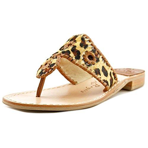 Jack Rogers Women's Safari Capri Dress Sandal, Leopard, 7.5 M US