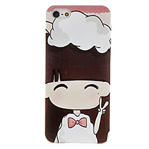 White Skirt Pattern Hard Case for iPhone 5/5S