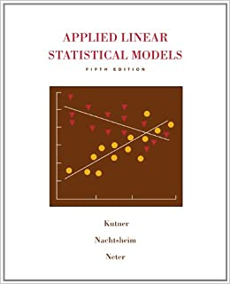 applied statistical model Applied statistics and research methods - august 2013 - methods  describe an  appropriate model that could be used to assess differences in cardiopul.