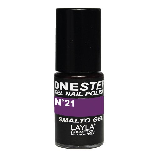 One Step Gel Nail Polish Tonalità 21 Purple Rain Layla Cosmetics 1646R25-021