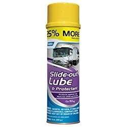 Camco Slide Out Lube -For Metal Parts, Rollers, Door Hinges & Brake Parts, Prevents Fading & Deterioration, Anti Corrosion & Anti Rust, For Rvs, Boats, Cars & More - 15 Oz (41105)