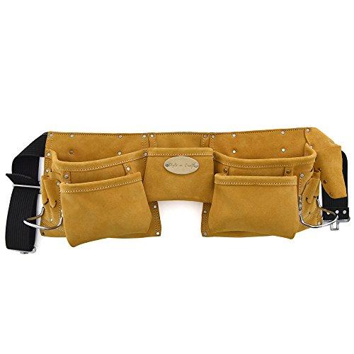 Style n Craft 91-426 11 Pocket Suede Tool Belt