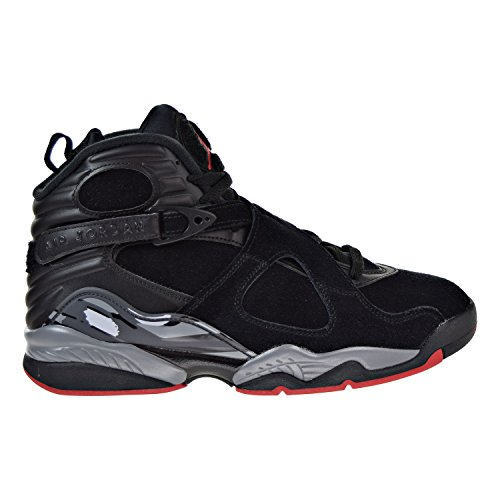 official photos 30a8f 08903 Nike Air Jordan Herren 8 Retro Basketballschuh Schwarz   Gym Rot   Schwarz    Wolf Grau