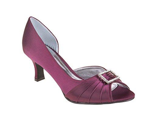 LEXUS - Zapatos de vestir para mujer púrpura - Plum