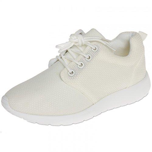 Sneakers Pour Ssn003 Caspar Femme Blanc Légères 0Hxfv