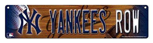 Ny Yankees Sign (Rico MLB New York Yankees High-Res Plastic Street Sign)