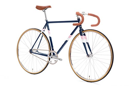 State Bicycle Rutherford 3 - Fixed Gear/Single Speed Bike, 46cm - Drop bar