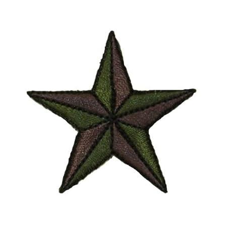 ID 0167 Camo - Parche de estrella náutica con el premio ...