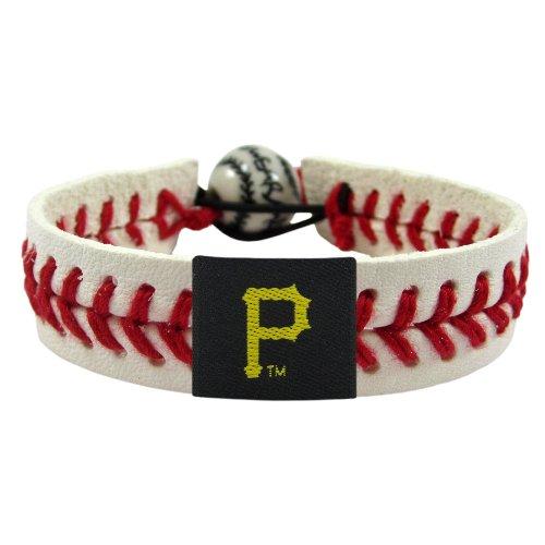 Pittsburgh Pirates Leather Baseball - MLB Pittsburgh Pirates Classic Baseball Bracelet