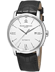 Baume & Mercier Mens 8592 Classima Automatic Leather Strap Watch