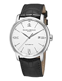 Baume and Mercier 8592 Men's Classima Automatic Leather Strap Watch