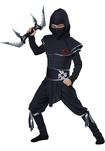 California Costumes Ninja Warrior Child Costume, (9 Yr Old Boy Halloween Costumes)