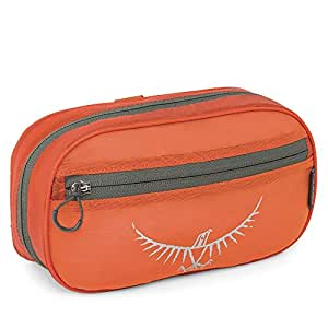Osprey UltraLight Zip Organizer, Poppy Orange, One Size