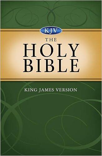 Holy Bible, King James Version (King James Bible): Barbour