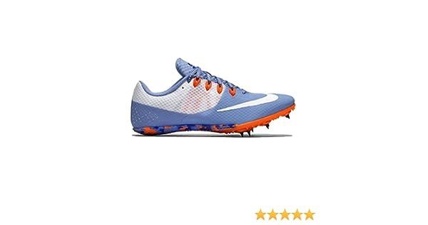 Nike Zoom Rival las mujeres de la pista Spike zapatos, Chalk Blue/Orange/White: Amazon.es: Deportes y aire libre