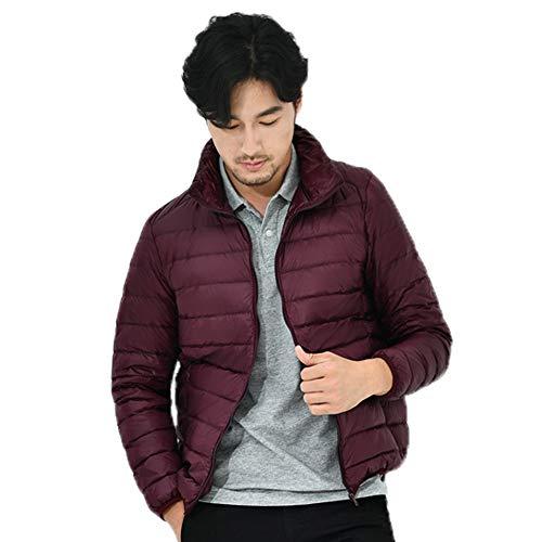 Down Water HARRYSTORE Puffer Jacket Jacket Lightweight Men's Red Resistant Sportswear Packable Packable CwCxSHqEX