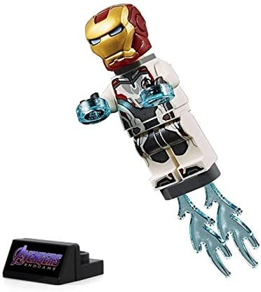 LEGO Super Heroes Avengers Endgame Minifigure - Iron Man (with White Jumpsuit) 30452