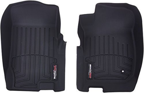 WeatherTech Custom Fit Front FloorLiner for Ford Explorer/Mercury Mountaineer (Black) ()