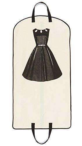 (Bag-all Women's Garment Bag, Natural/Black, One Size)