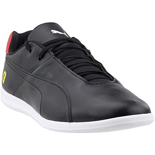 PUMA Men's Ferrari Future Cat Casual Sneaker, puma black-puma black-rosso corsa, 6.5 M US (Casual Future Cat Puma)