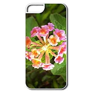 Diy For Iphone 5C Case Cover Flower Peach Blossom Cases Diy For Iphone 5C Case Cover White Hard Plastic