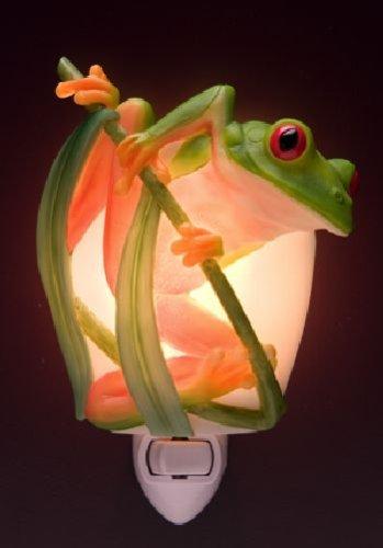 - Ibis & Orchid Tree Frog Night Light #50071
