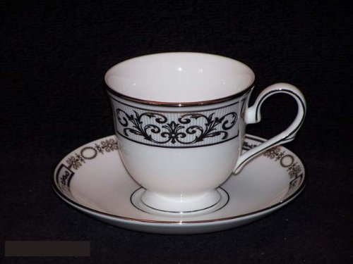 - Lenox Antiquity Cups & Saucers