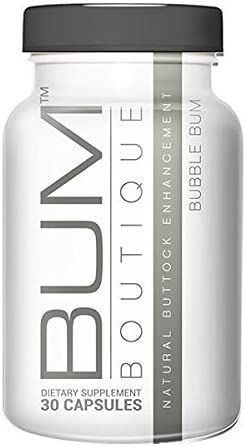 Big Booty Butt Enhancement Pills: Bum Boutique Buttocks Supplement for Bigger Butts, Curves and Lower Body Shaping