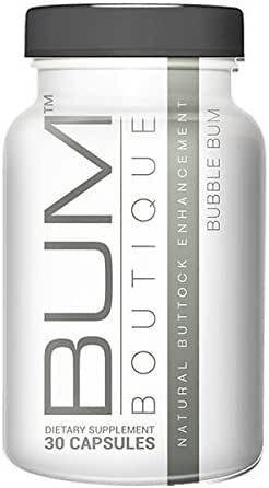 Big Booty Butt Enhancement Pills: Bum Boutique Buttocks Supplement for Bigger Butts, Curves and Lower Body Shaping - Healthy Rear End Lift and Glutes Enlargement Formula with Maca Root and L-Tyrosine
