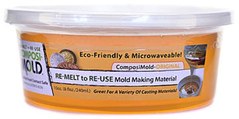 ComposiMold RE-MELT to RE-USE Mold Making Material | 10 oz. 1 pcs sku# 1874619MA