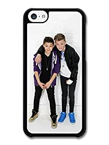 AMAF ? Accessories Bars and Melody Boyband Leondre Devries Charlie Lenehan Standing Cast case for iPhone 5C