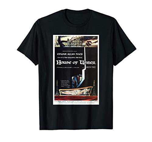 House of Usher 1960 Horror Movie Poster Perfect Scary Gift T-Shirt