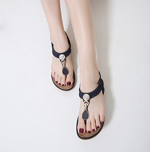 CNPSHOE159 ZAMME Femme pour Bleu Sandales TqSdTr8w