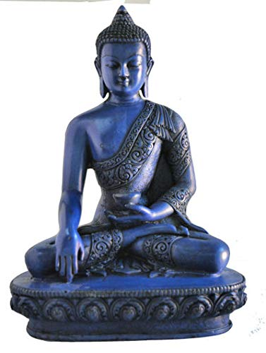mytibetshop Earth Touching Buddha Statue for Meditation, Alter and Home