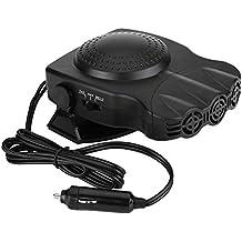 Car Heater Cool Fan-150W 12V 2 In1 Car Truck Heating Cooling Fan Heater Windscreen Demister Defroster