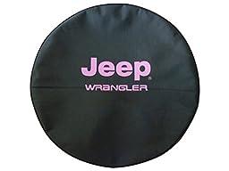 SpareCover BR-j-wrangler-35-pink Brawny Series Black Denim 35\