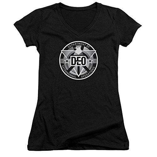 Femme Supergirl T Supergirl Noir T shirt shirt Femme xtwqOqPY