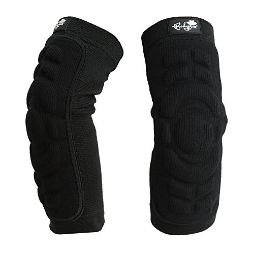 Bodyprox Elbow Protection Pads 1 Pair (Medium), Elbow Guard Sleeve (Best Mountain Bike Elbow Pads)