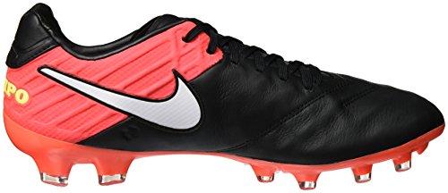 Nike Tiempo Legacy Ii Fg - 819218018 Volt Ix Arancio Nero / Bianco