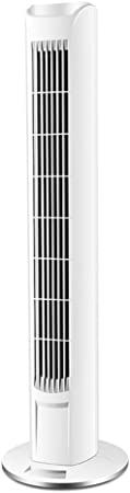 Opinión sobre FHDF Silencioso Ventilador De Torre con Mando a Distancia Portátil Oscilante Tower Fan3 Velocidades 3 Viento para El Hogar Y La Oficina Temporizadorr (Blanco, 80 CM)