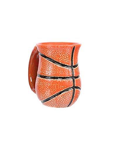 DEI 30136 Ceramic Mug 4.5 x 4.5 x 5.0 Orange