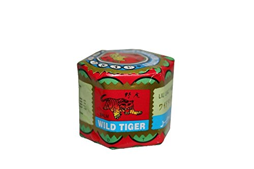 Body Relax Pain Relief Menthol Ointment Oil Treatment Therapy- Wild Tiger Balm (1) (Relief Balm Tension)