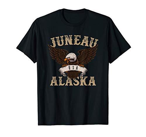 (Juneau USA Bald Eagle T-Shirt )