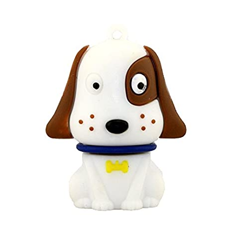 32GB High Speed Novelty Mini Dog Cartoon Memory Stick  Storage U Disk Cute Pen Drive for Gift