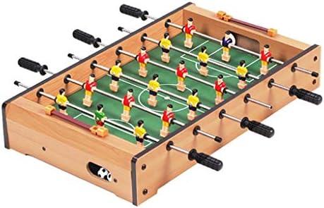 Futbol de mesa Futbolines Seis Tiro Futbolín Futbolín Niño Foozeballs Mesa Bolas De Futbolín Juego De Mesa (Color : Wood Color, Size : 48 * 28 * 8.2cm): Amazon.es: Hogar