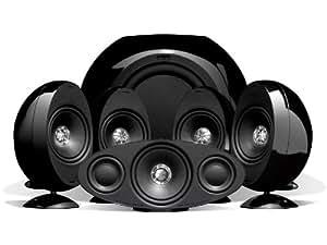 KEF KHT3005SE - Equipo de altavoces de 750W, negro